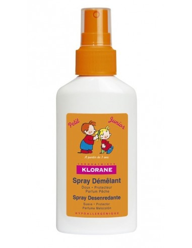 Klorane Petit Junior Spray Desenredante Cabello Perfume Melocotón, 125ml