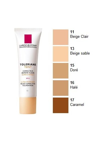 La Roche Posay Toleriane Teint Maquillaje Fluido Nº 11 Beige Claro, 30ml