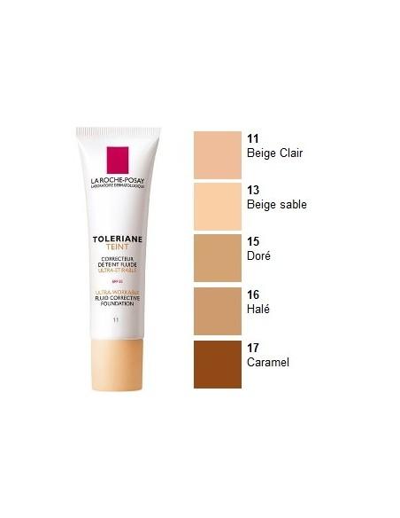 La Roche Posay Toleriane Teint Maquillaje Fluido 11 Beige Claro, 30ml
