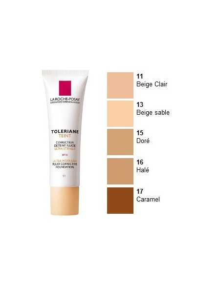 La Roche Posay Toleriane Teint Maquillaje Fluido Nº 13 Sable, 30ml