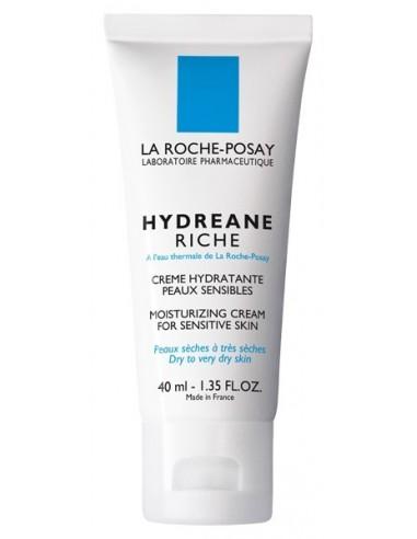 La Roche Posay Hydreane Rica Hidratante Piel Sensible, 40ml