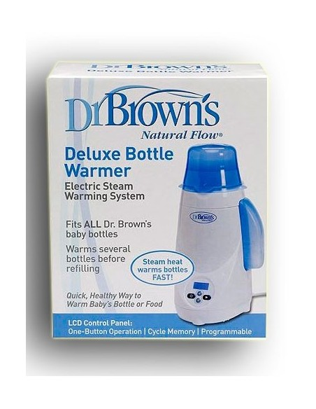 Dr Brown´s Calienta biberones Eléctrico Natural Flow, 1Ud