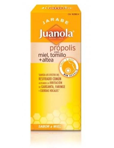 Jarabe Juanola con Própolis Miel Tomillo Altea, 150ml