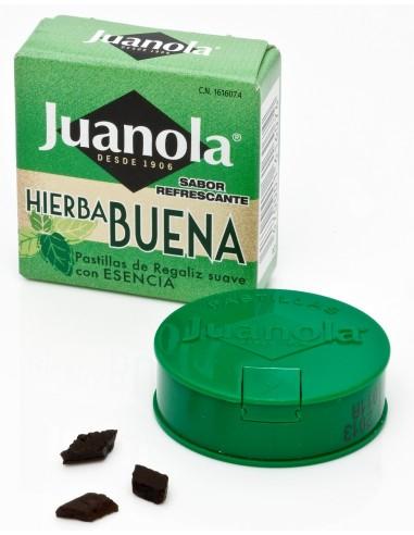 Juanola Pastillas con Esencia Hierbabuena, 5.4g