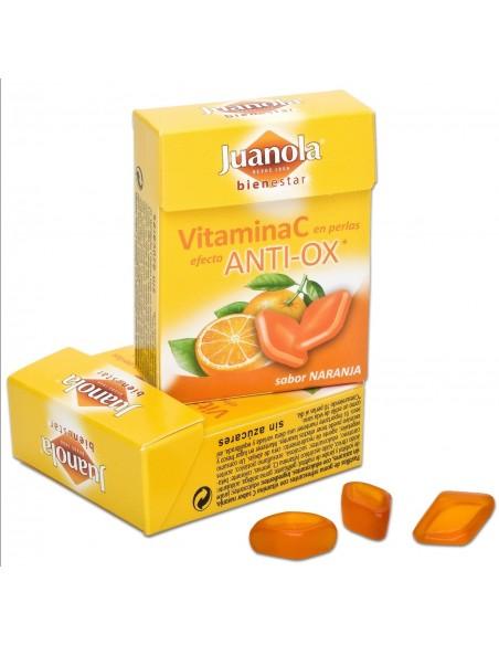 Juanola Perlas Naranja Vitamina C con efecto Anti-ox, 25g