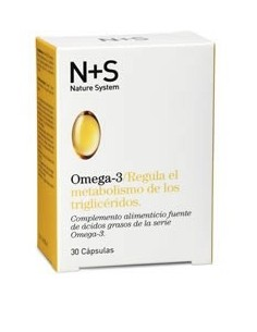 Cinfa N+S Nature System Omega-3, 30 Capsulas
