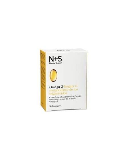 Cinfa N+S Nature System Omega-3, 30 Capsulas