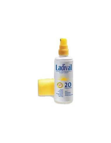 Ladival Fotoprotector Spray Transparente SPF20, 150ml