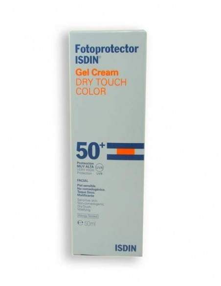 Isdin Fotoprotector Gel Crema Toque Seco SPF50+ Color, 50ml