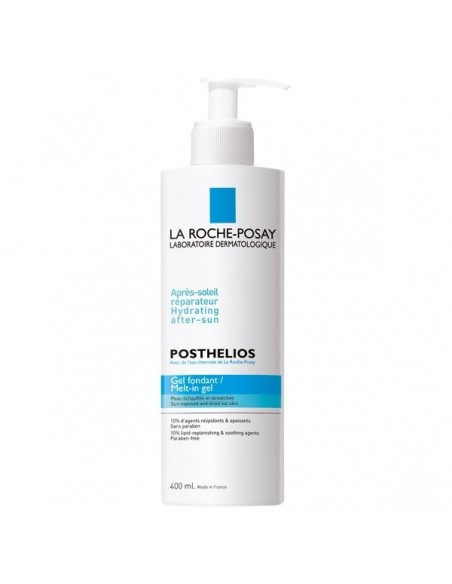 La Roche Posay Posthelios Gel After-sun Cara y Cuerpo, 400ml