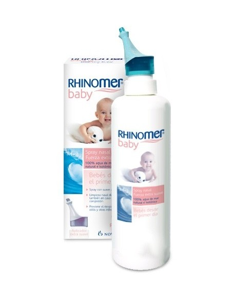 Rhinomer Baby Spray nasal Fuerza Extra suave, 115ml