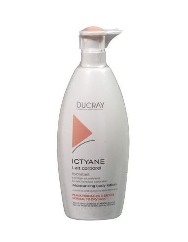 Ducray Ictyane Leche Corporal Hidratante Piel Normal/Seca, 500ml