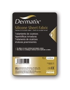 Dermatix Lámina Silicona Cicatrices Fabric, 4 x 13cm