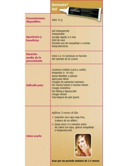 Dermatix Gel de Silicona Cicatrices, 15g