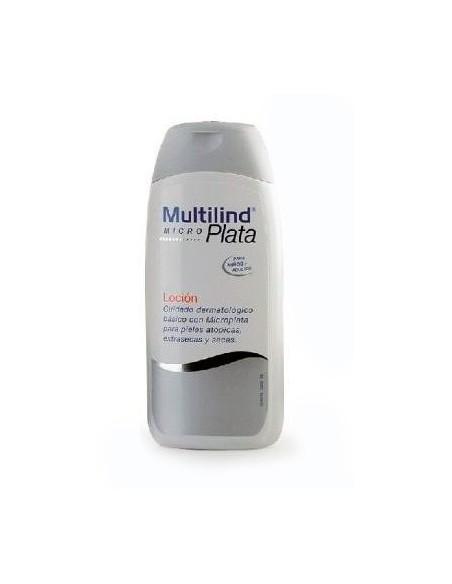 Multilind Micro Plata Loción Pieles Atópicas/Secas Niños y Adultos, 200ml