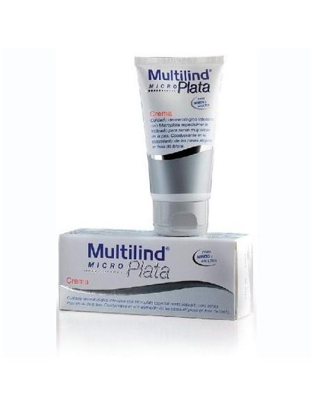 Multilind Micro Plata Crema Pieles Atópicas/Secas Niños y Adultos, 75ml