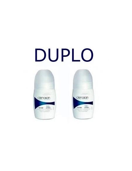 Clenosan bs+ DUPLO Desodorante Roll-on, 2x 75ml