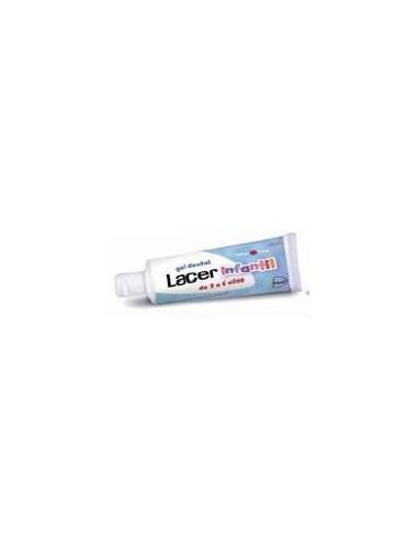 Lacer Gel dentífrico infantil 2-6 Anos Sabor Fresa, 50ml