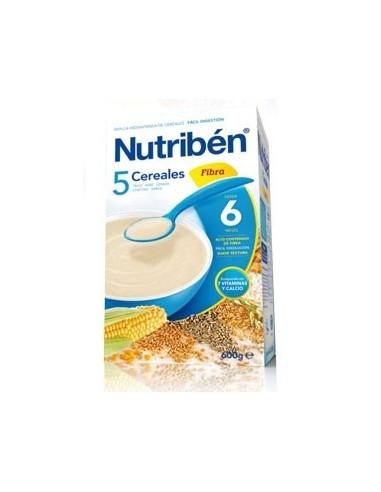 Nutribén 5 Cereales Fibra, 600g