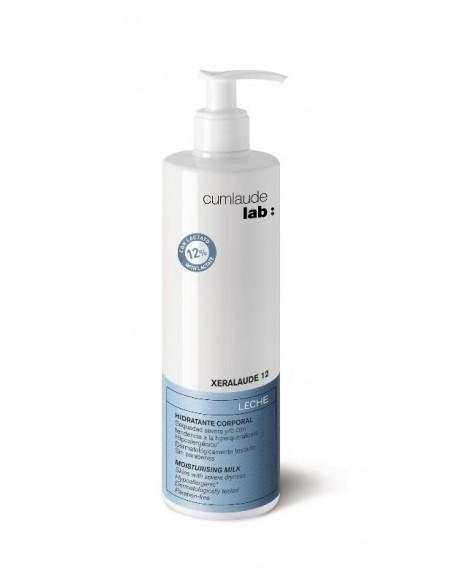 Cumlaude Xeralaude 12 Leche Hidratante corporal, 400ml