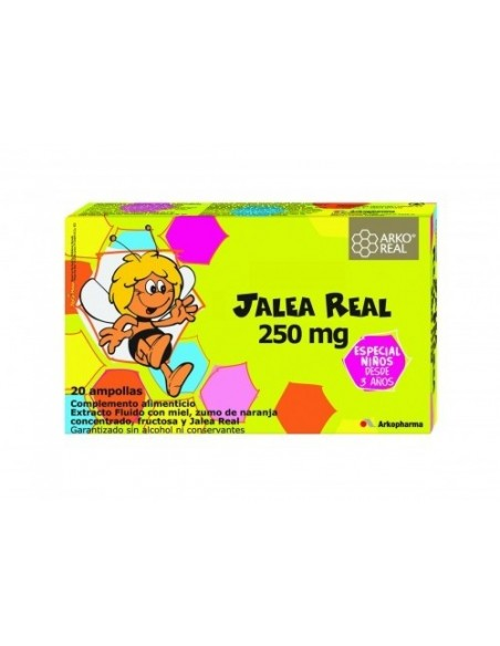 Arkoreal Jalea Real 250mg, 20 Ampollas
