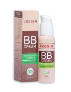 Uresim BB Cream Tono 02 Piel morena, 50ml