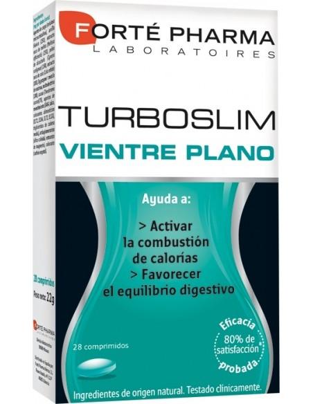 Forté Pharma Turboslim Vientre Plano 45+, 28 Comprimidos