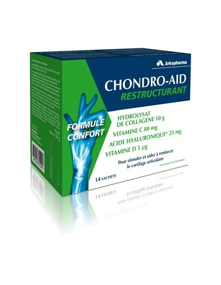 Arkopharma Chondro-Aid Reestructurante Cartilago Articular, 14 sobres