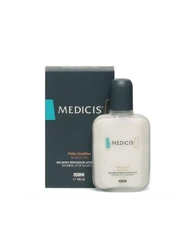 Isdin Medicis Bálsamo Reparador Después Afeitado, 100ml + REGALO Dermoespuma de afeitar, 50ml