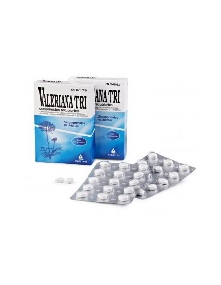 Valeriana Tri, 15 comprimidos recubiertos