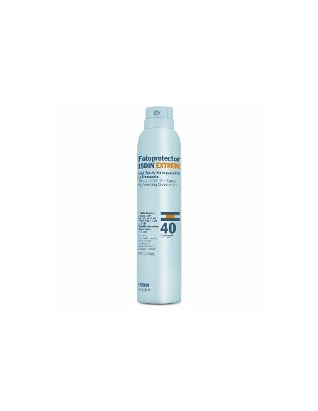 Isdin Fotoprotector SPF40 Gel-Spray Transparente, 200ml