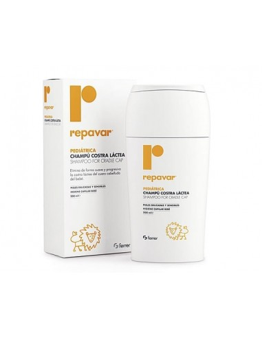 Repavar Pediatrico Champú Costra Láctea, 200ml