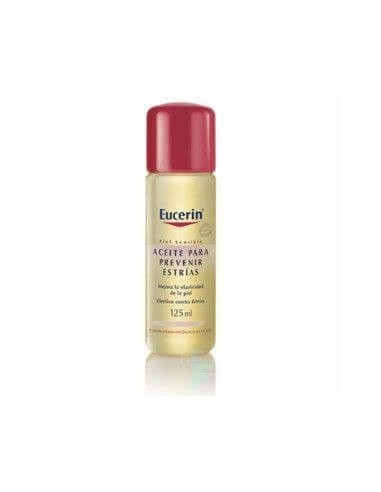 Eucerin Aceite Natural Antiestrias Piel Sensible, 125ml