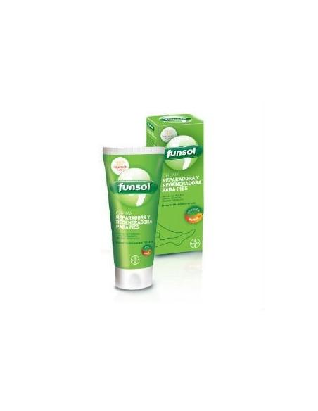 Bayer Funsol Crema de Pies Reparadora y Regeneradora, 100ml