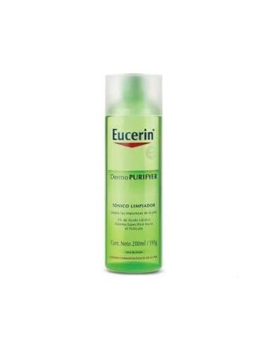 Eucerin DermoPurifyer Tónico Limpiador Facial Piel Grasa, 200ml