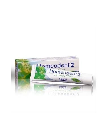 Boiron Homeodent-2 Plantas y Fluor Pasta Dental Clorofila, 75ml