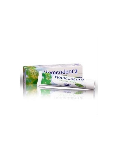 Boiron Homeodent-2 Plantas y Fluor Pasta Dental Limón, 75ml