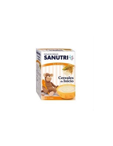 Sanutri Papilla de Cereales Sin gluten, 600g