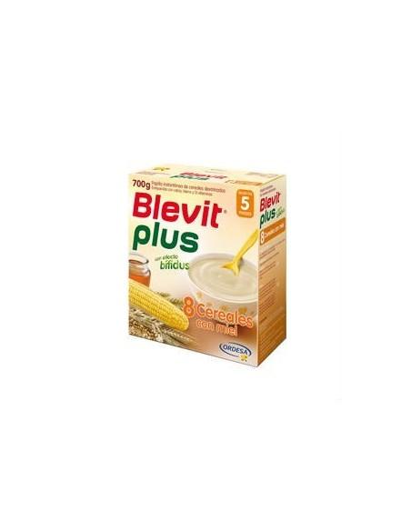 Ordesa Blevit Plus 8 Cereales con Miel Pack 3x2, 3x 700g