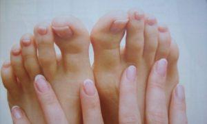Hongos en las uñas de los piespies
