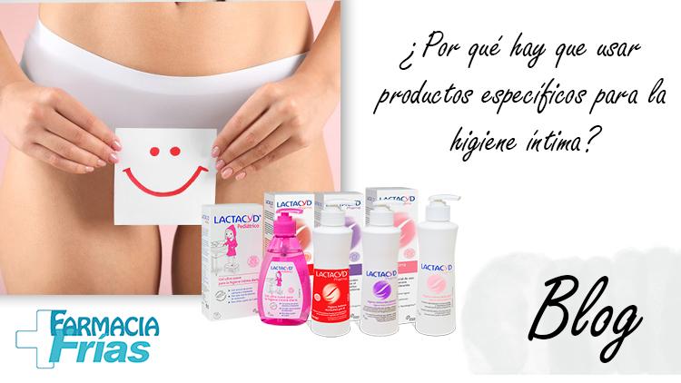 Por que usar productos de higiene intima