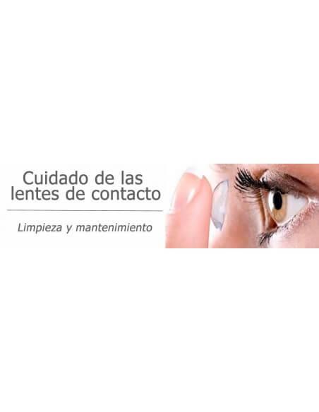 Cuidado das lentes de contato