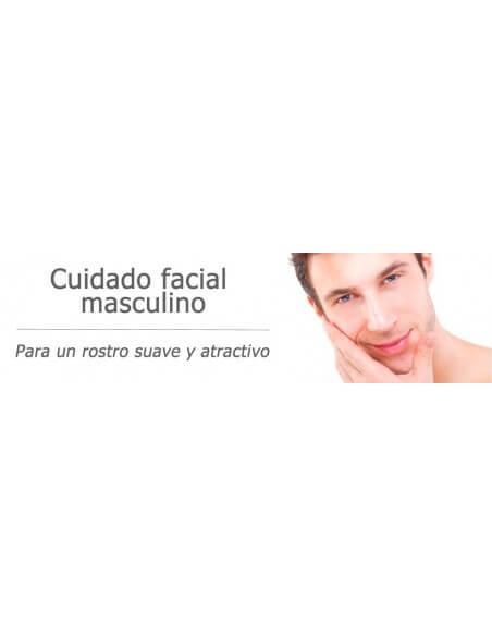 Cuidado facial hombre